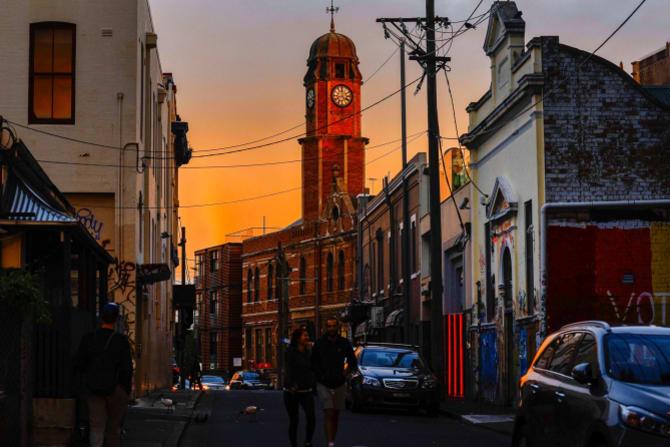 King Street, Newtown.