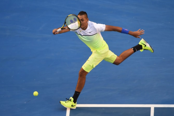 Nick Kyrgios in 2015.