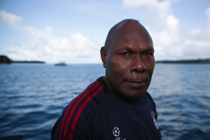Port Vila market vendor Jackie Willie is concerned about the growing Chinese presence in Vanuatu.