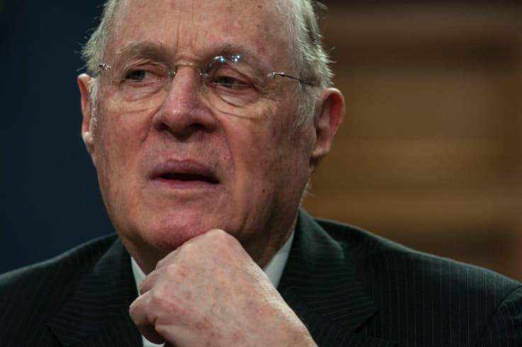 US Supreme Court Justice Anthony Kennedy.