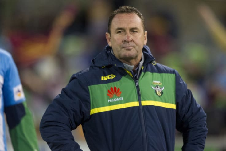 Raiders coach Ricky Stuart has revamped his coaching staff as he looks to take the Green Machine back to the NRL finals.