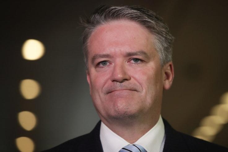Minister for Finance Mathias Cormann