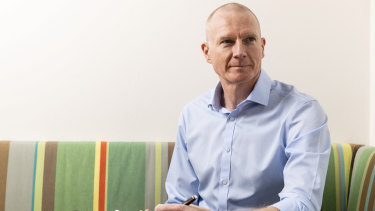 Cochlear chief executive Dig Howitt.