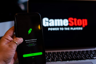 GameStop has been at the centre of a trading frenzy as a chatroom-inspired army of retail investors took on hedge funds which were shorting the stock.