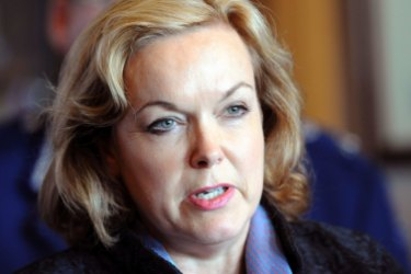 New Zealand National Party MP Judith Collins.