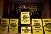 Clive Palmer spent $60 million on advertising for his party's federal election campaign.