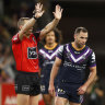Storm skipper Smith fined for slap, free to play prelim