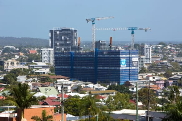 Brisbane needs to grow up, not out, says Infrastructure Australia