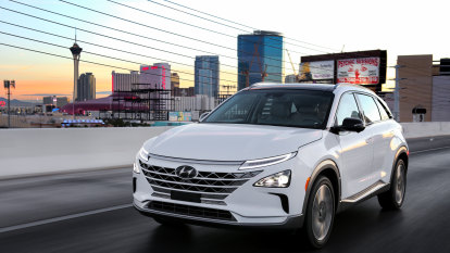 Hydrogen cars to be added to government's fleet in next step to phasing out petrol