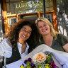 Kate Ritchie and Hana Assafiri reunite at The European.