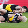 Magpies, Tigers blockbuster sparks decade-high TV ratings