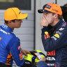 McLaren qualified second for Austrian GP. Ricciardo wasn't at the wheel
