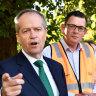 Andrews spends big on pro-Shorten letter blitz of Labor's target seats