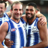 'The stars aligned': Kangaroos topple Hawthorn to claim first win