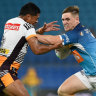 NRL 2021 as it happened: Gold Coast Titans smash Brisbane Broncos 28-16, Newcastle Knights steal 20-16 win over New Zealand Warriors