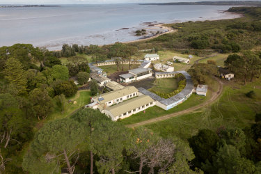 The former prison farm on French Island has sold to Chinese developers.