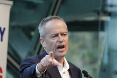 bfa388b6bb8 Bill Shorten promises ABC funding boost at pro-Aunty rally