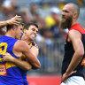 Live AFL scores: West Coast v Melbourne