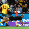 Bledisloe Cup 2020 as it happened: Wallabies beat All Blacks 24-22 after two red cards