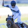 Never in Samadoubt: Clark takes control of Winx Stakes and lands upset