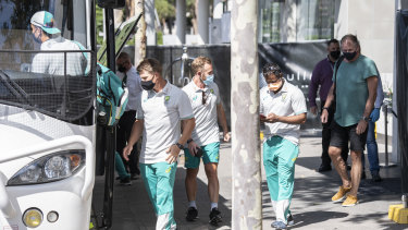 Australian players have spoken about the mental rigours of quarantine.
