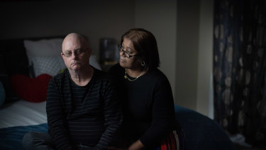 Garry Keeping, with his wife Kamal, was diagnosed with COVID on July 18. Three months later he is still experiencing lingering effects, including hand tremors, forgetfulness and fatigue.