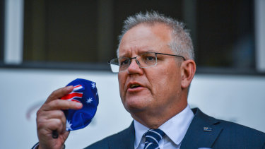 Scott Morrison is pushing for Japan to take Australian hydrogen exports during his trip to Tokyo to meet new Japanese Prime Minister Yoshihide Suga.
