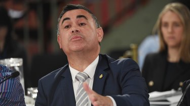 Deputy Premier John Barilaro says the Liberals should be prepared to have a discussion around nuclear energy.