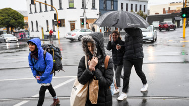 Melbourne is preparing for rain and strong winds from Wednesday through Thursday.
