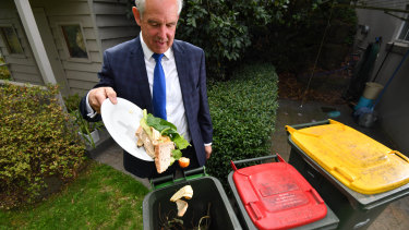 Nillumbik Shire councillor Peter Clarke. The council have had fortnightly rubbish collection and then weekly food scrap and organic matter collection for about a decade.