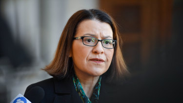Health Minister Jenny Mikakos resigned on Saturday.
