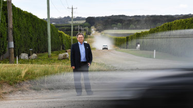 Mornington Peninsula councillor David Gill was vocal in calling for a speed limit reduction.