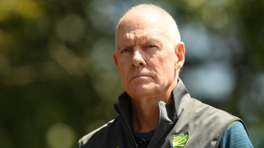 Departing selector Greg Chappell.