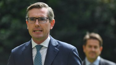 NSW Treasurer Dominic Perrottet is yet to confirm whether his state will assist struggling airline Virgin.