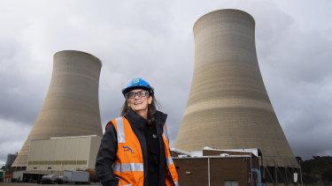 EnergyAustralia managing director Catherine Tanna.