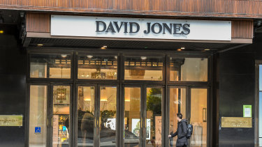 David Jones store space is being closed down in parts of the country