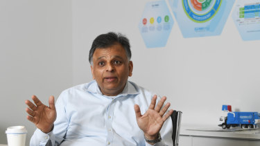 Cleanaway CEO Vik Bansal says he is sorry and will improve his behaviour.