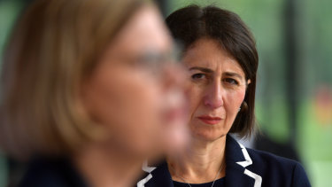 Premier Gladys Berejiklian and Chief Health Officer Dr Kerry Chant.