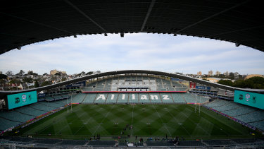 Early demolition works have started at Allianz Stadium.