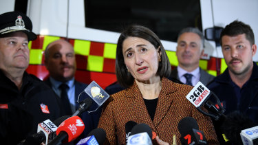 Premier Gladys Berejiklian said she expected her colleagues to be respectful of other people's views.