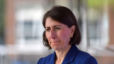 Gladys Berejiklian indicated she would relax the rules for the northern beaches on Saturday.