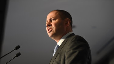 """""""They are putting their profits before their customers,"""" says Treasurer Josh Frydenberg."""