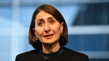 "NSW Premier Gladys Berejiklian on Wednesday says NSW needs a ""breather"" from population growth."