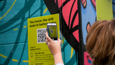 QR codes are the latest technology we're being asked to rely on for the purposes of public safety.