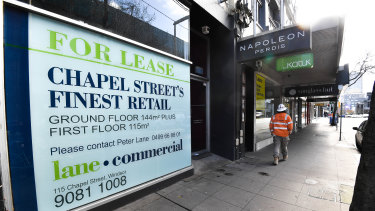 Chapel Street is struggling with high vacancy rates before the COVID-19 lockdown.