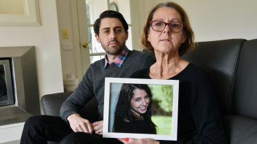 Georgie Stephenson's brother Campbell Stephenson and mother Robyn Jones suspect there was an environmental factor in Georgie's leukaemia.