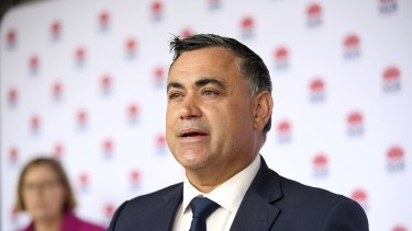 Acting Premier John Barilaro says the SCG Test will go ahead, but there may be some restrictions.