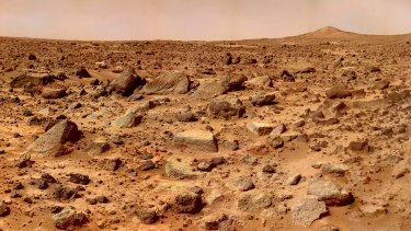 Mars, which an international team of scientistsbelieves could one day be colonised by humans.