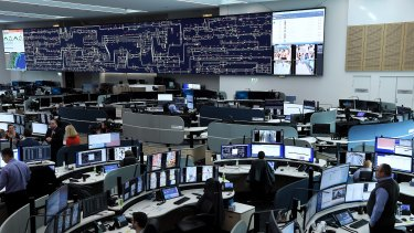 Staff at the Rail Operations Centre in Alexandria monitor the network.