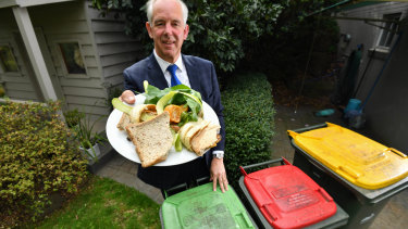Nillumbik Shire mayor Peter Clarke said his council has had fortnightly rubbish collection and then weekly food scrap and organic matter collection for about a decade.